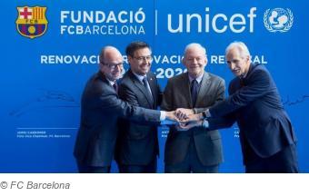 FC Barcelona y UNICEF: 10 años de alianza