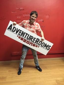 Foto de El fundador de AdventureRooms, Gabriel Palacios