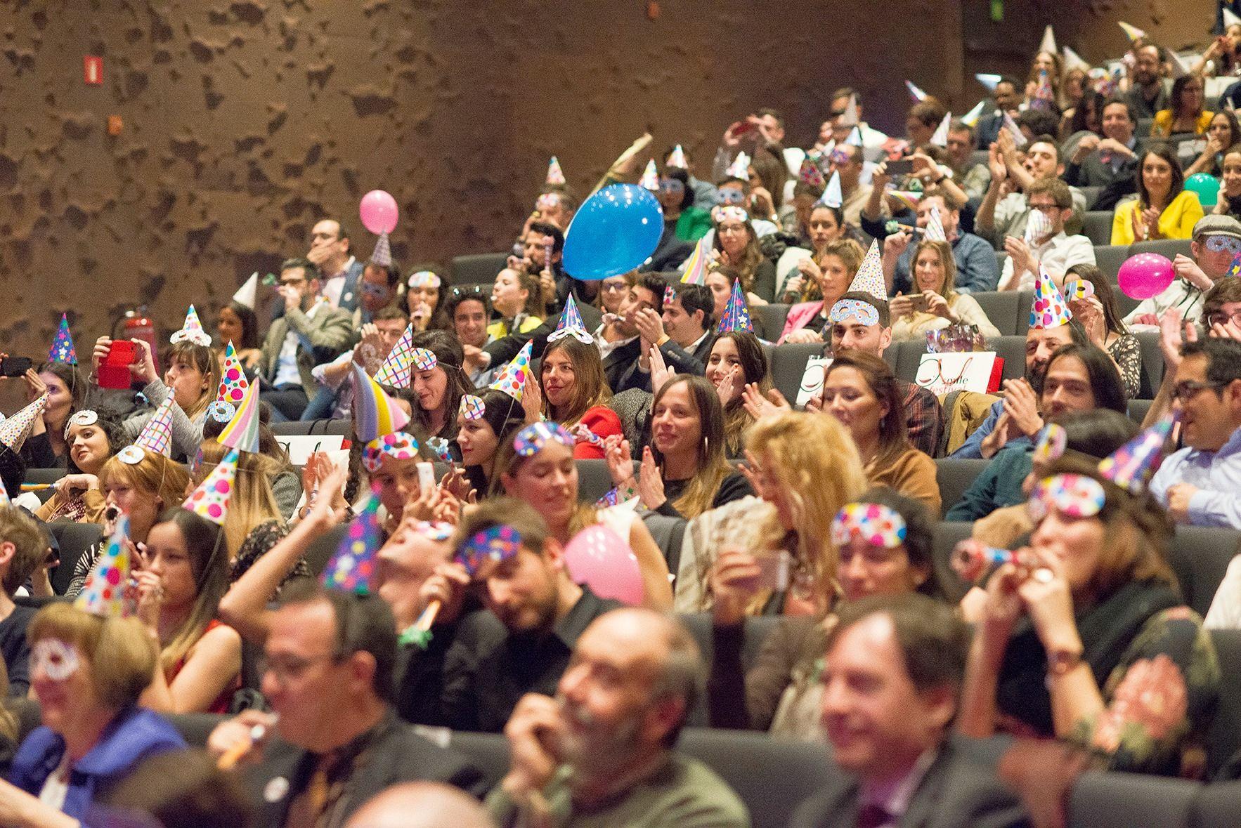 Foto de El público se divertió con las continuas bromas preparadas