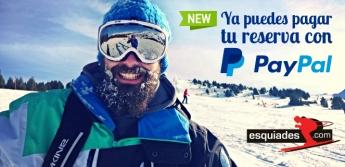 Foto de Ya puedes pagar tu reserva con PayPal en Esquiades.com