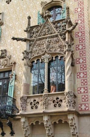 Casa amatller modernismo en la manzana de la discordia de - Casa modernista barcelona ...