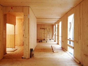 Foto de Interior edificio eco-pasivo