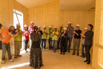 Foto de Evento en el interior de edificio eco-pasivo