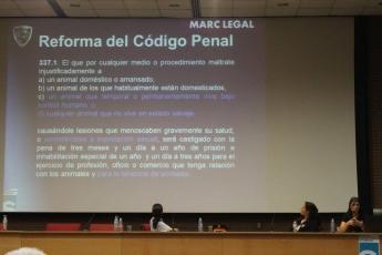 Foto de Formación pionera sobre maltrato animal en el ISPC