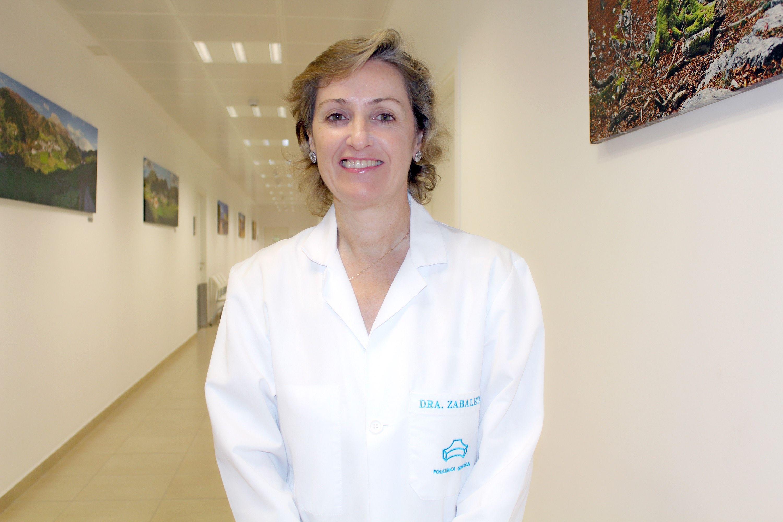 Foto de La oftalmóloga de Policlínica Gipuzkoa, Mercedes Zabaleta