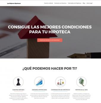 Web Lasmejoreshipotecas.es