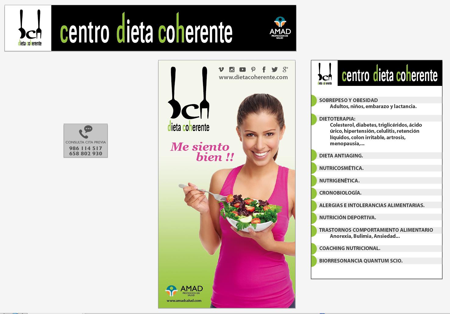 Dieta Coherente inaugura el primer centro especializado en..