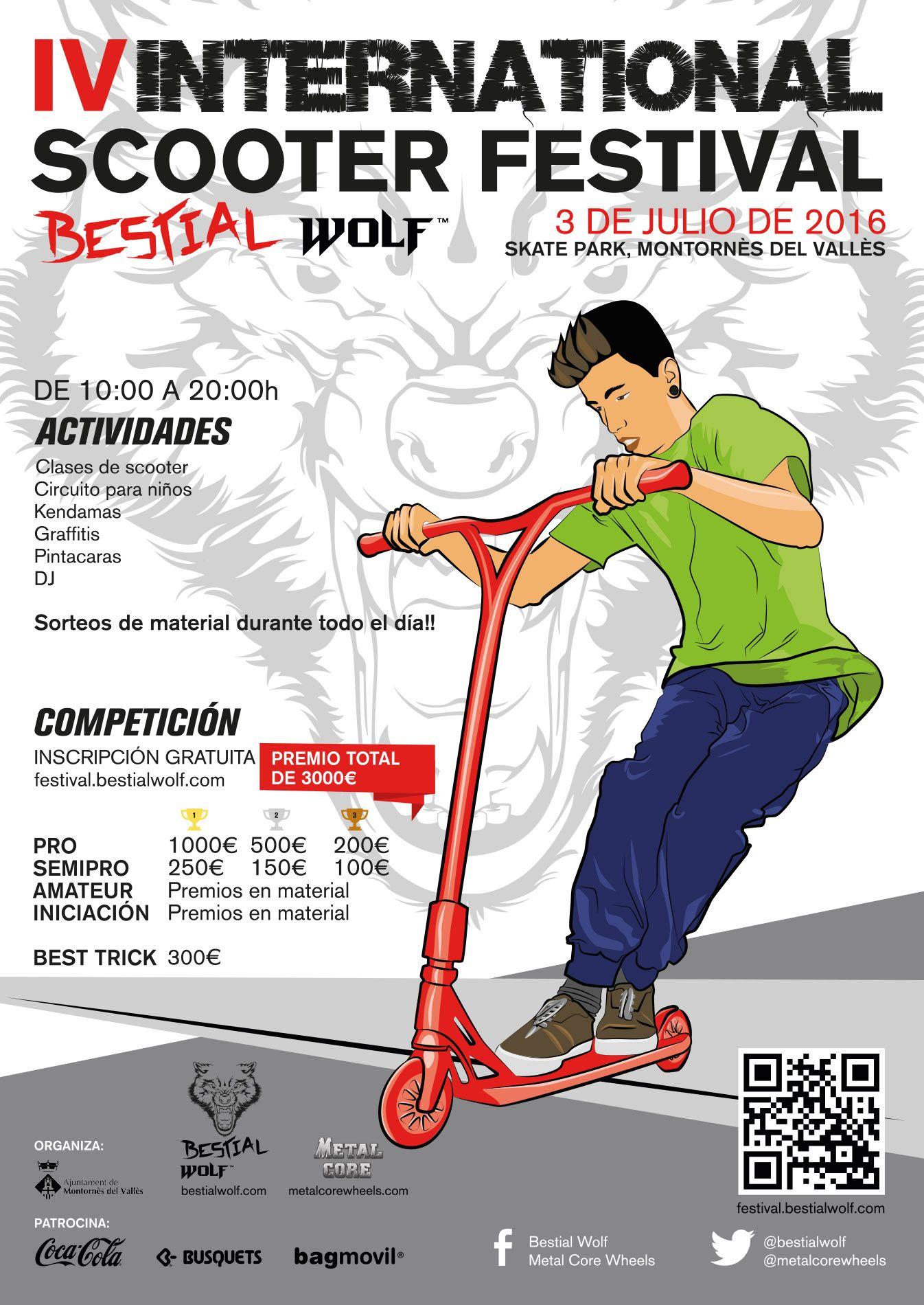 Circuito Mayor : Iv international scooter festival: la mayor competición del patinete