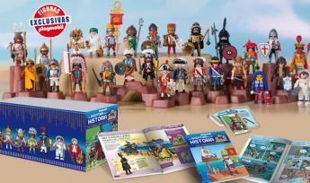 Colección Playmobil, la aventura de la historia