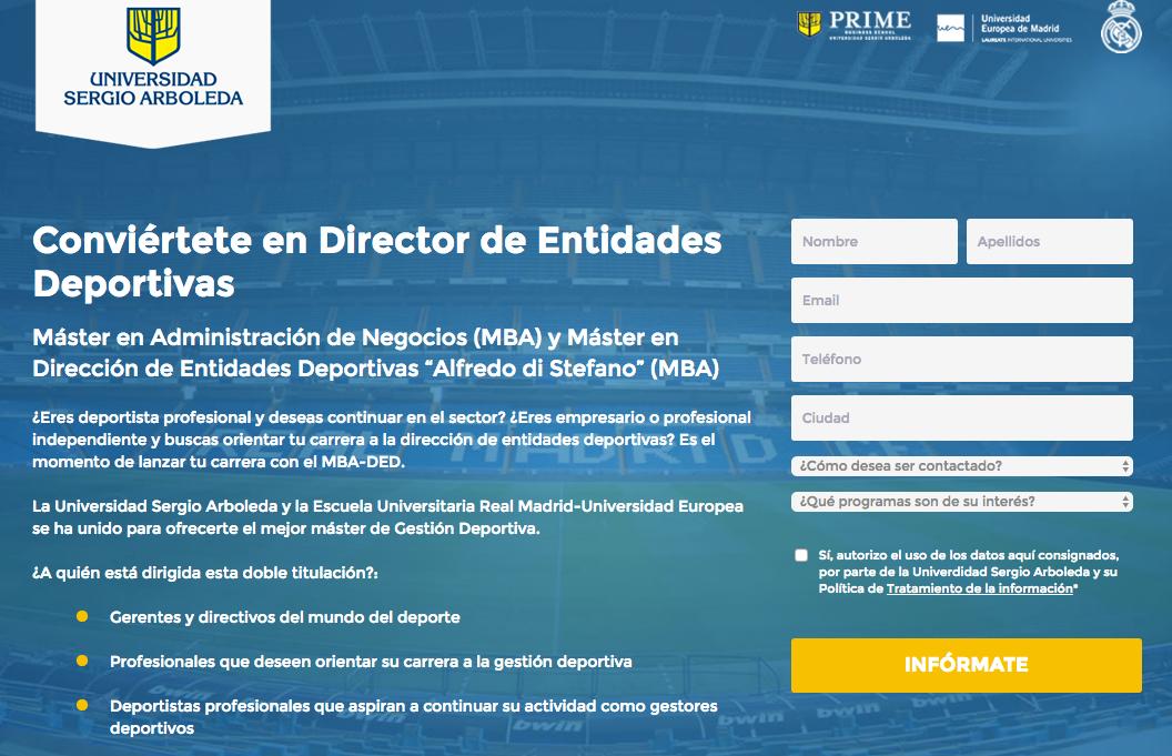 Foto de Máster en Dirección de entidades deportivas