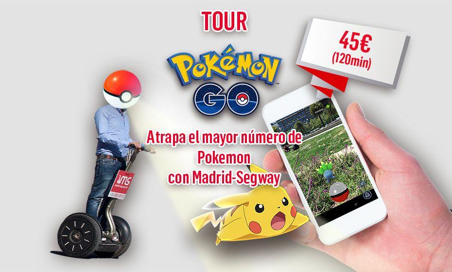 Foto de Pokemon Go Tour Madrid-Segway