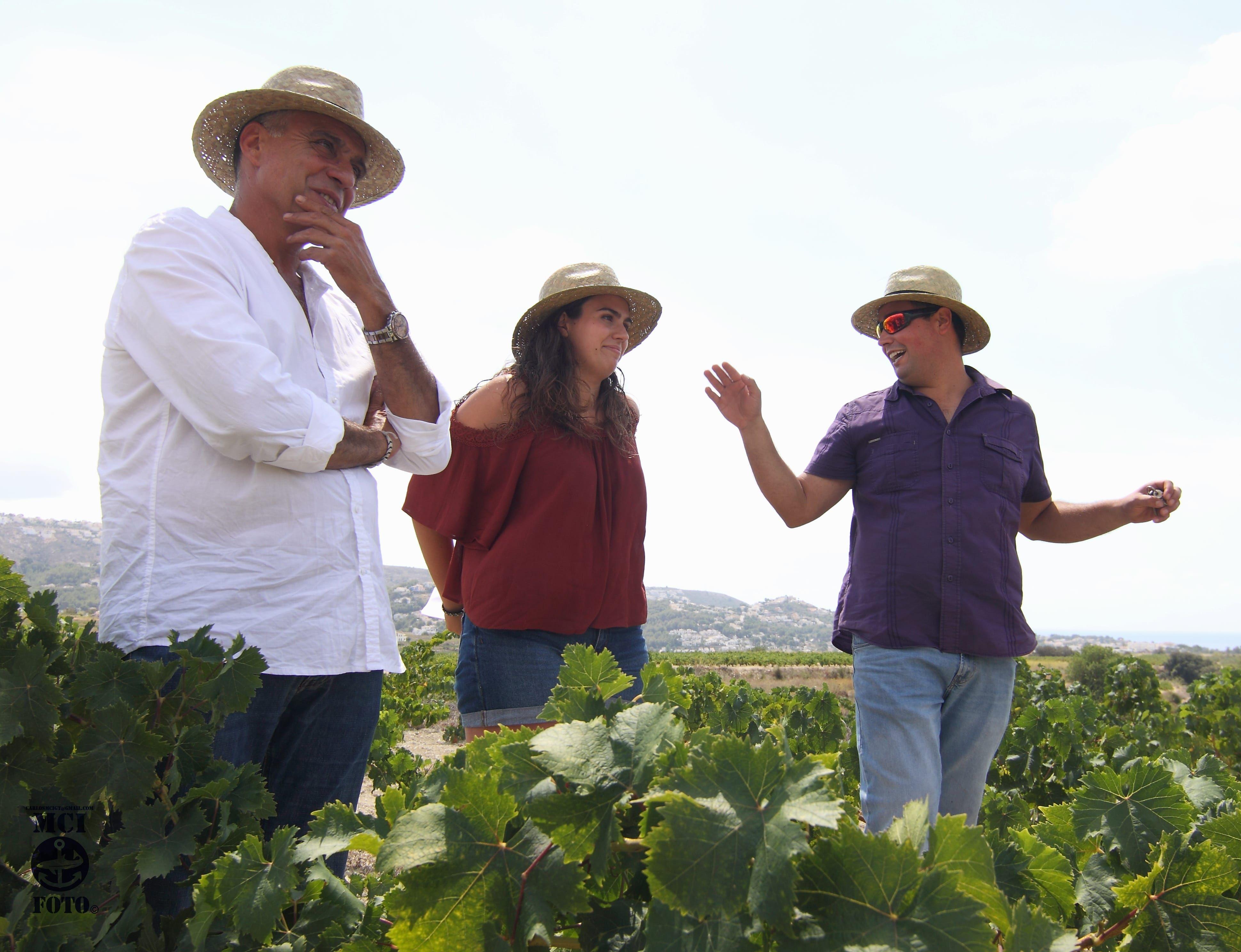 Foto de Ximo, Helena y Dani Cabrera