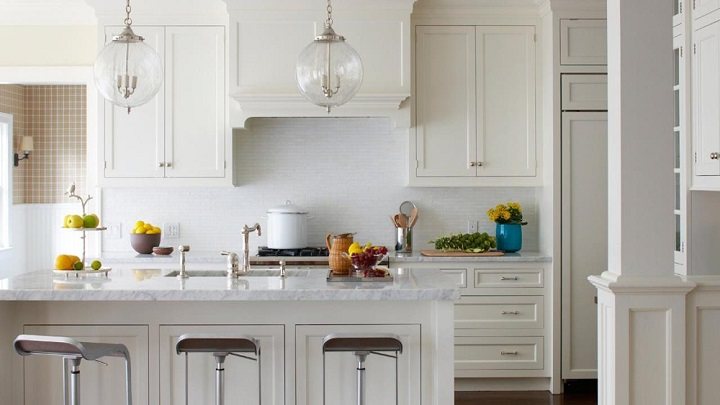 La moda de las cocinas blancas: qué sí y qué no - Notas de prensa