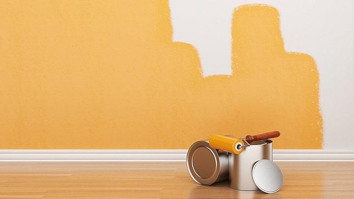 Cuatro consejos para no dejar marcas al pintar con rodillo - Formas de pintar paredes ...