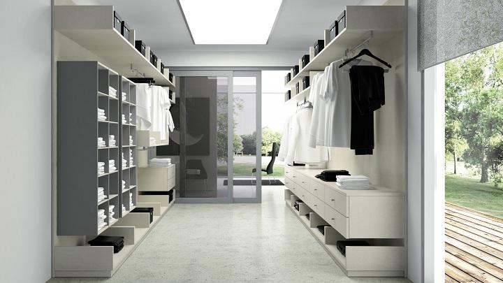 Cómo iluminar correctamente un vestidor - Notas de prensa