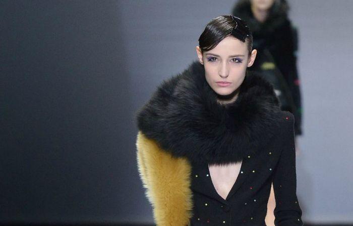 Foto de Armani se une a la tendencia Fur Free desde 2016.