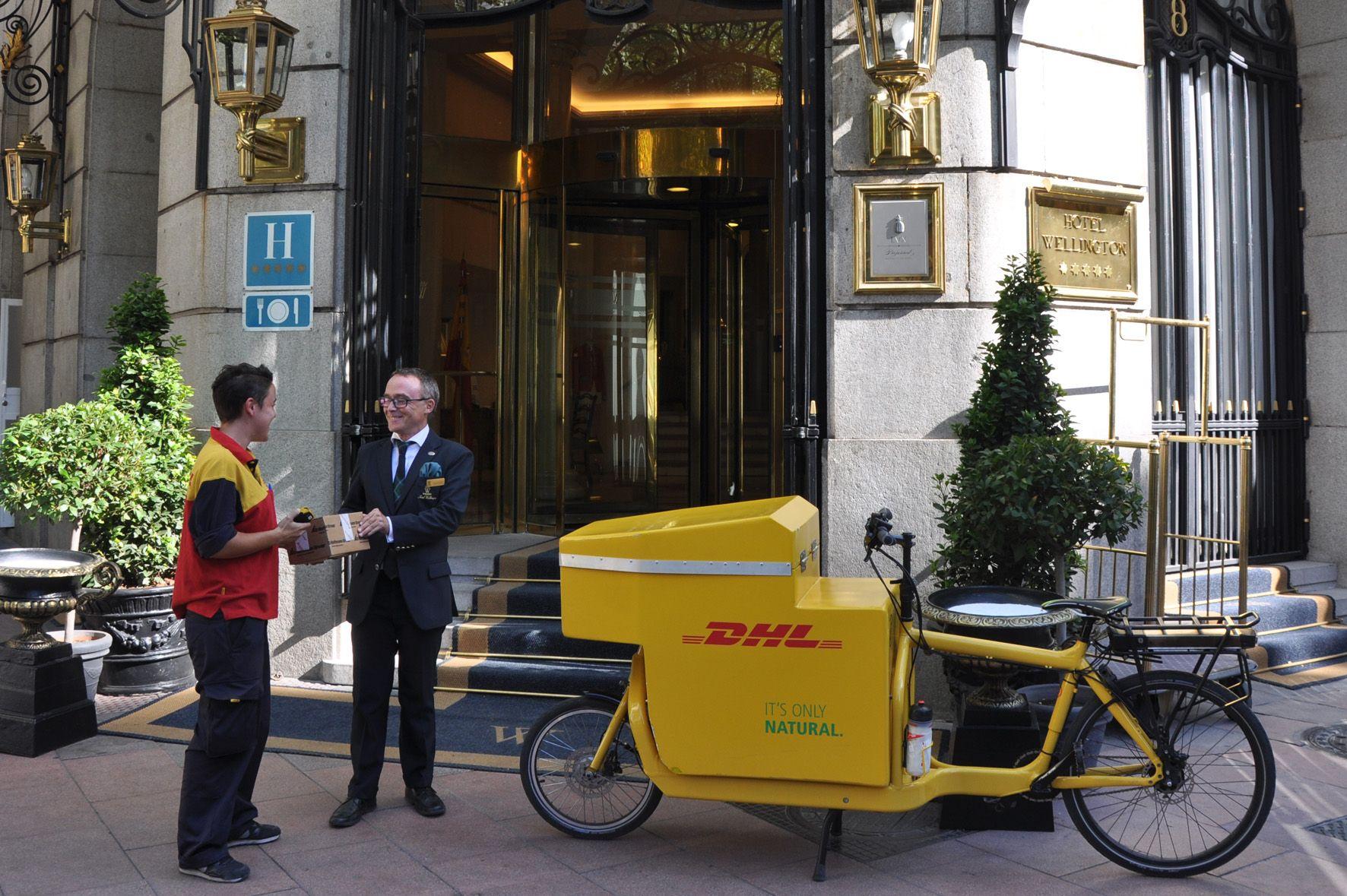Foto de Bicicleta eléctrica de DHL