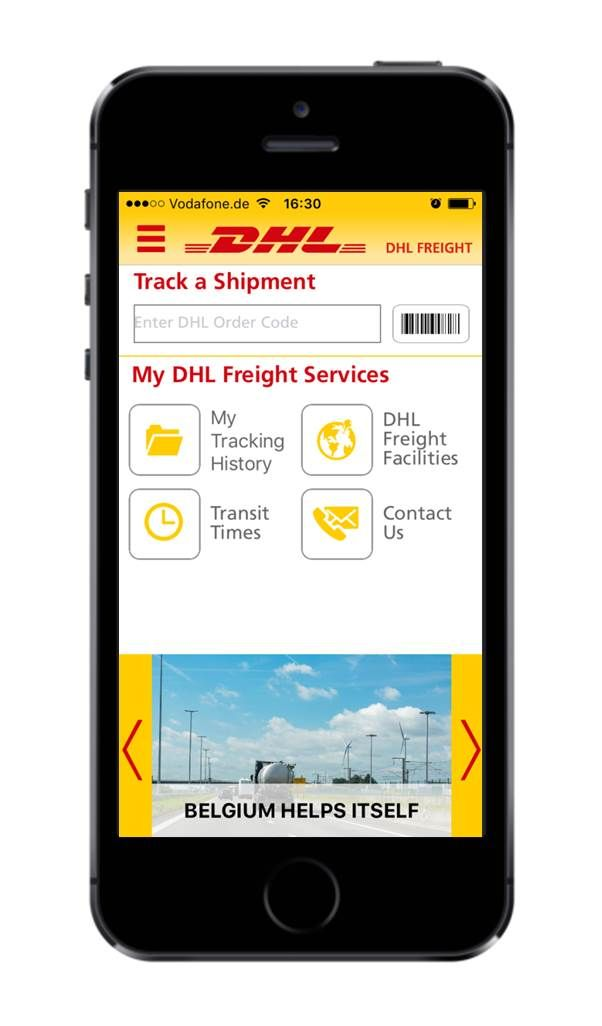 Foto de App de DHL Freight