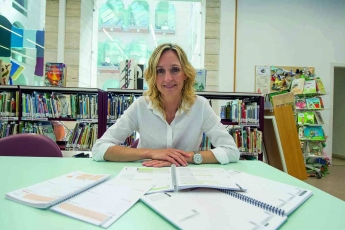 Foto de Las agendas de Coaching Agenda y su creadora, Mireia Seró