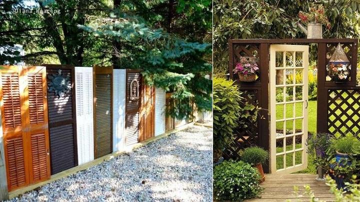 10 ideas para reciclar puertas viejas notas de prensa for Reciclado de puertas