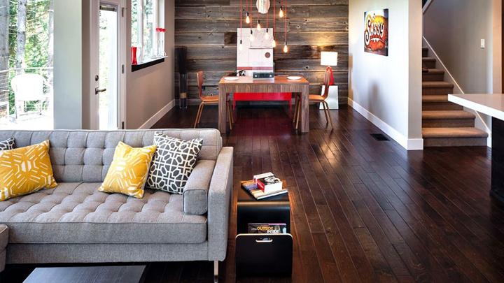 La madera un elemento para decorar una casa natural Elementos de decoracion de interiores