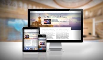 Foto de Nueva Web ScientologyReligion.ORG