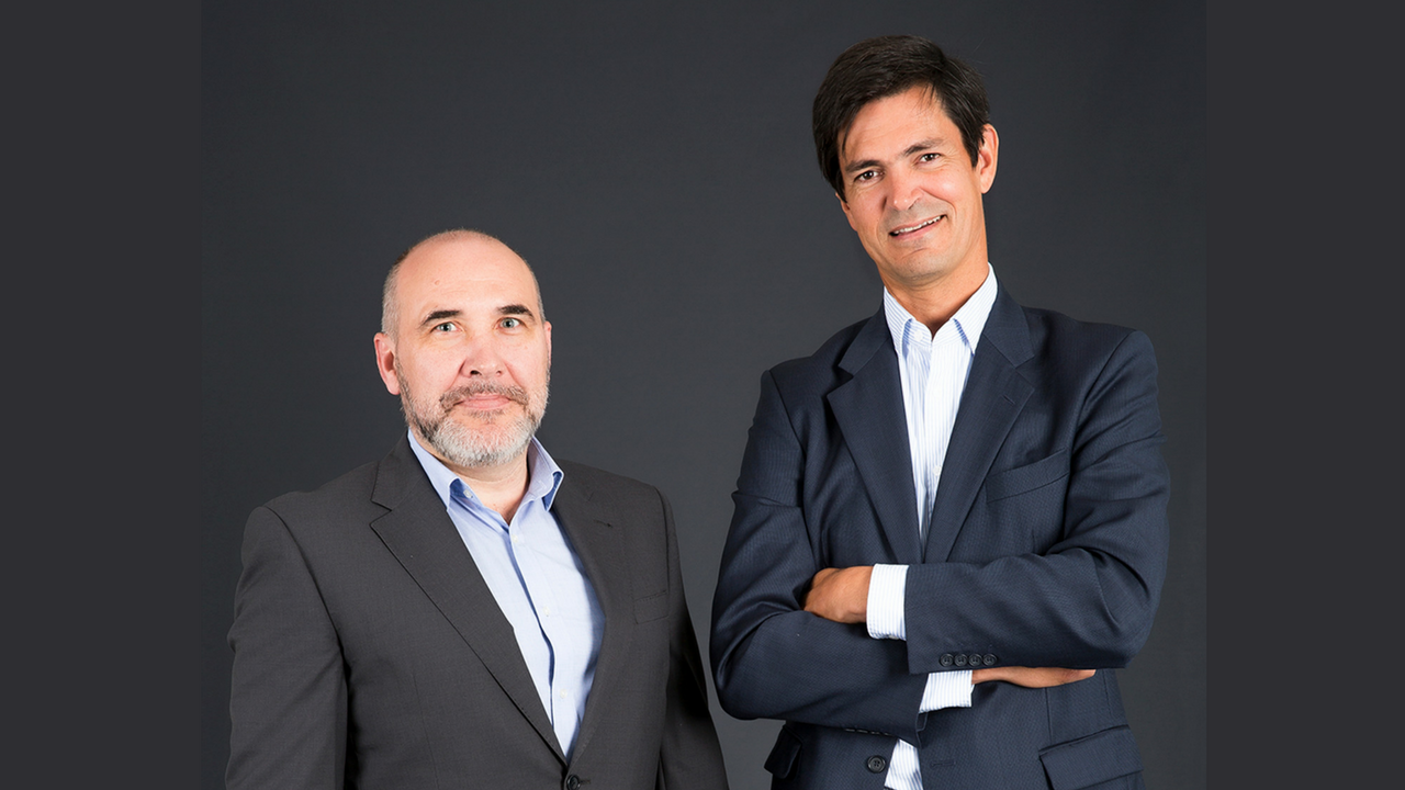 Foto de Jorge Bustos y Paulino de Evan, Co-fundadores de Finanzarel