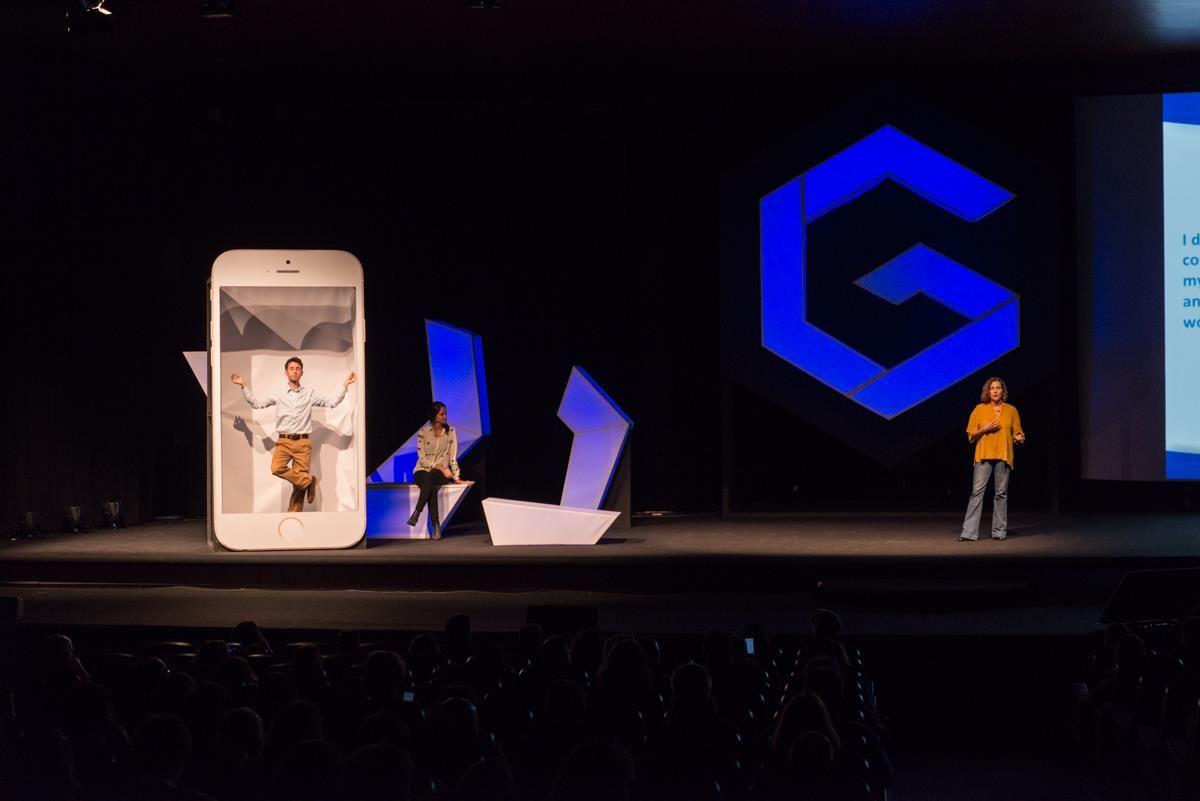 Foto de Pernod Ricard presentando su proyecto de Gamificación en GWC