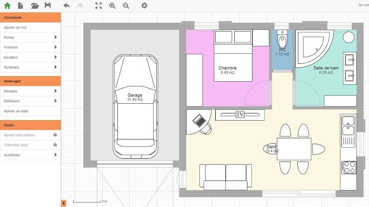 Seis aplicaciones para hacer planos de casas notas de prensa for Crear planos de casas