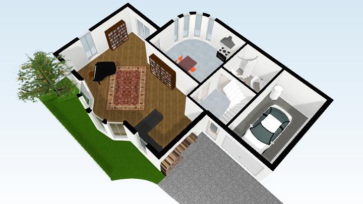 Seis aplicaciones para hacer planos de casas notas de prensa - Construir casas en 3d ...