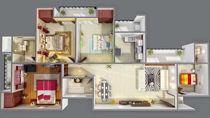 Seis aplicaciones para hacer planos de casas notas de prensa for Crear plano de casa online