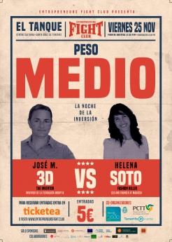 Foto de Entrepreneurs Fight Club Peso Medio
