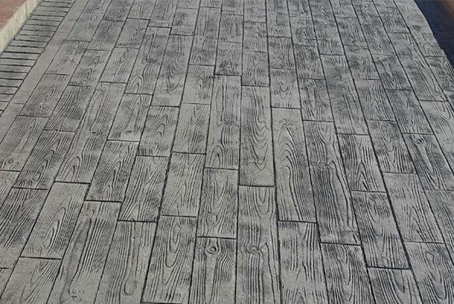 General pavimentos presenta su gama de soluciones en hormig n notas de prensa - Hormigon impreso madera ...