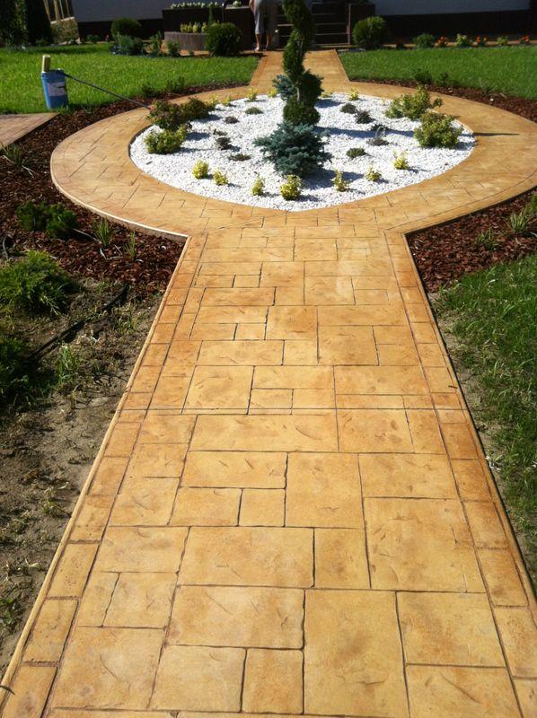 Hormig n impreso y pulido revestimientos resistentes y for Pavimentos de jardin