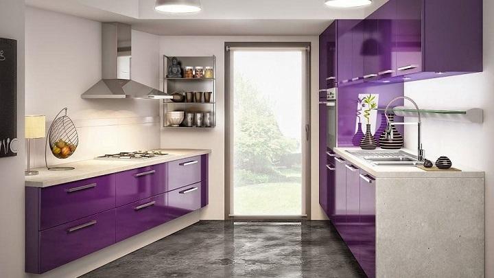 El morado, un color perfecto para la cocina - Notas de prensa
