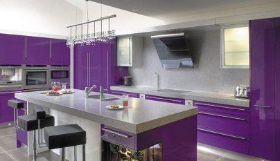 Cocina Morada   El Morado Un Color Perfecto Para La Cocina Notas De Prensa