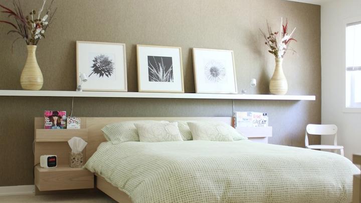 Ideas para decorar con baldas y optimizar el espacio - Ideas para decorar el dormitorio ...