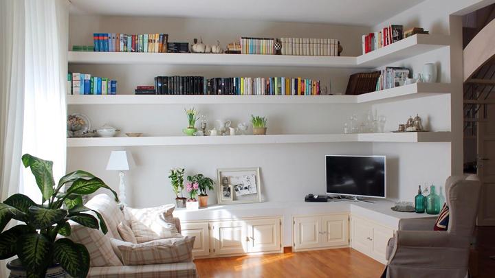 Ideas para decorar con baldas y optimizar el espacio - Baldas de diseno ...