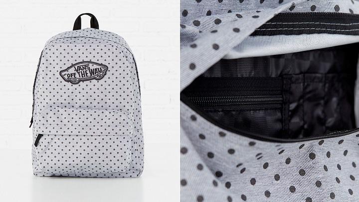 ba85a8c93 Las mochilas y zapatillas que Vans ha diseñado para Springfield ...