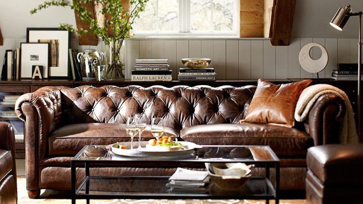 Un sof chester y cuatro estilos de sal n notas de prensa for Sofa tipo chester barato