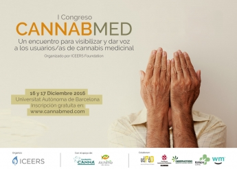 Cartel del I Congreso Cannabmed