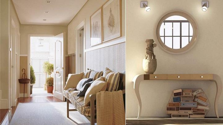 Los mejores colores para pintar el recibidor del hogar - De que color pintar las paredes ...