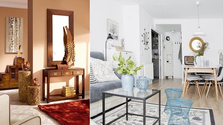 Los mejores colores para pintar el recibidor del hogar - Pintar entrada piso ...