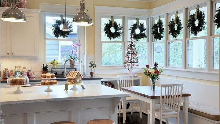 Las mejores cocinas con decoraci n navide a notas de prensa Las mejores cocinas