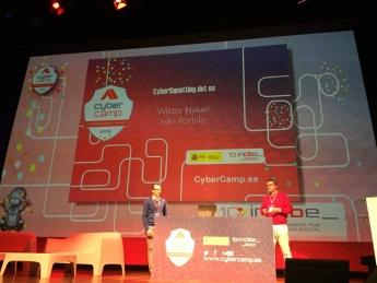 Foto de Conferencia CyberSquatting dot ES en CyberCamp 2016