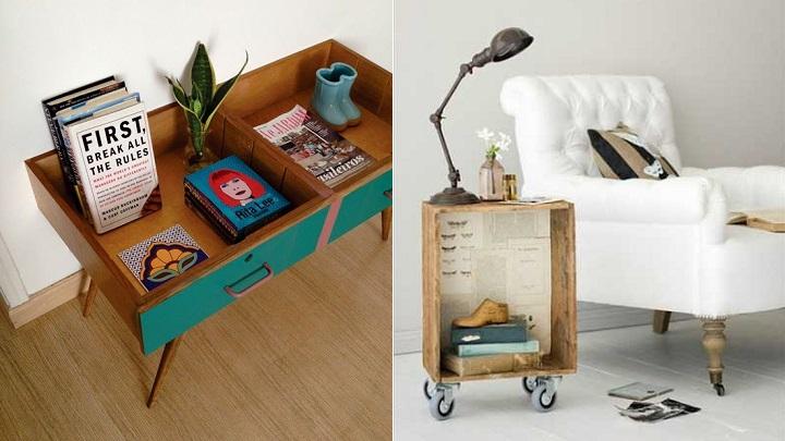 Ideas que permiten reciclar de manera original los cajones - Muebles originales reciclados ...