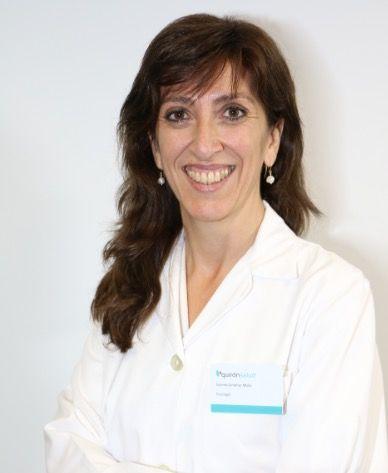 Foto de Vicenta Giménez, psicóloga del Hospital de Día