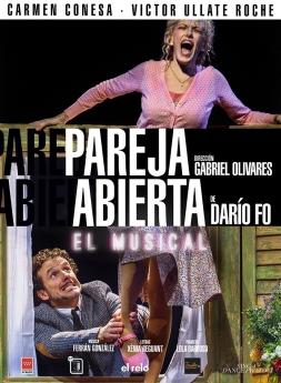 Cartel PAREJA ABIERTA El Musical