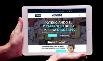 Nueva web de Grupo Valora