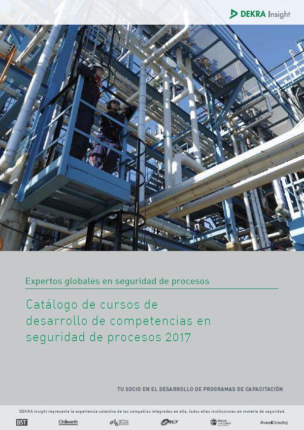 Foto de Catálogo de Cursos seguridad de procesos